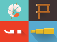 Vibrant Icon Set