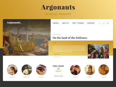 Argonauts Official Website