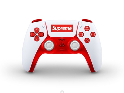 New concept designs for the DualSense PS5. Supreme mods fun concept dualsense dualshock playstation5 supreme