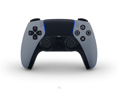 New concept designs for the DualSense PS5. Space Grey grey game dualsense dualshock playstation5 sony gamepad spacegrey