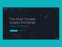 Nexion. Main page. Crypto wallets and exchange