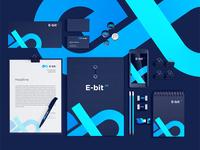 E-BitFX. Brandbook design.
