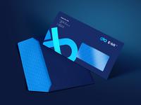 E-BitFX. Brandbook design. Envelope