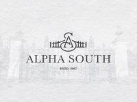 Alpha South logo