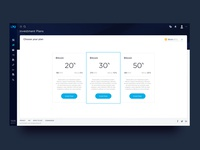 E-bitFX. Investment page. Light style