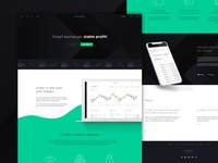 STABEX. Landing page