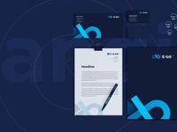 E-bit FX. Branding & dashboard