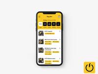FitnessON. Mobile App redesign