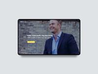 EBIT BANK. Website Design