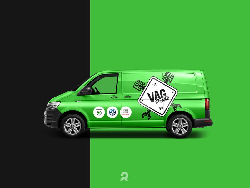 VAG Pride. Car branding