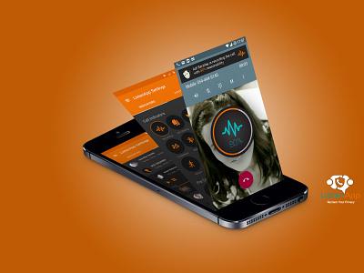 Listenapp keep your communication safe app animation app ui kit user experience user interface ux ui app design