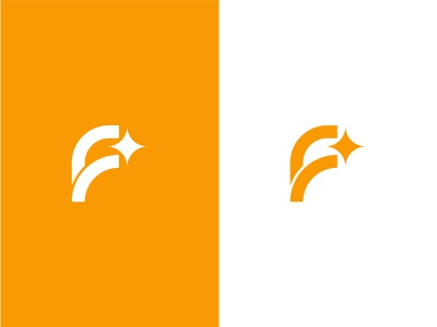 Picking the best logo design star abstract branding mark logo best letter f hand
