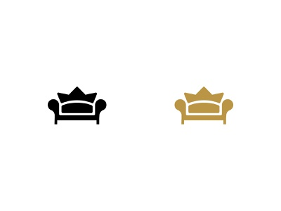 Royal Couch for sale unused buy stay home sofa icon logo premier prime couch royal