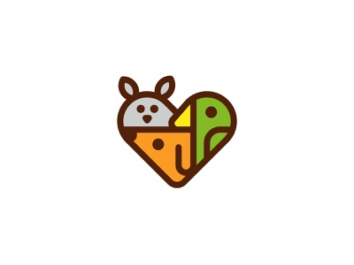 Pet Love for sale unused buy unused care love heart parrot cat dog logo animals animal pet