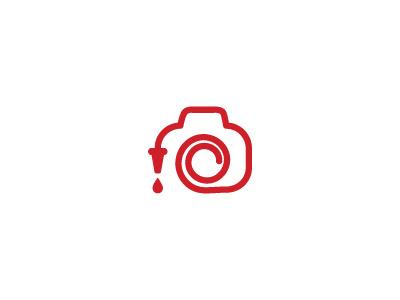 Fireman Photography fireman firefighter photography camera logo