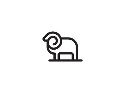 Ram Logo for sale buy sheep logo animal logo ram logo logo sheep animal ram