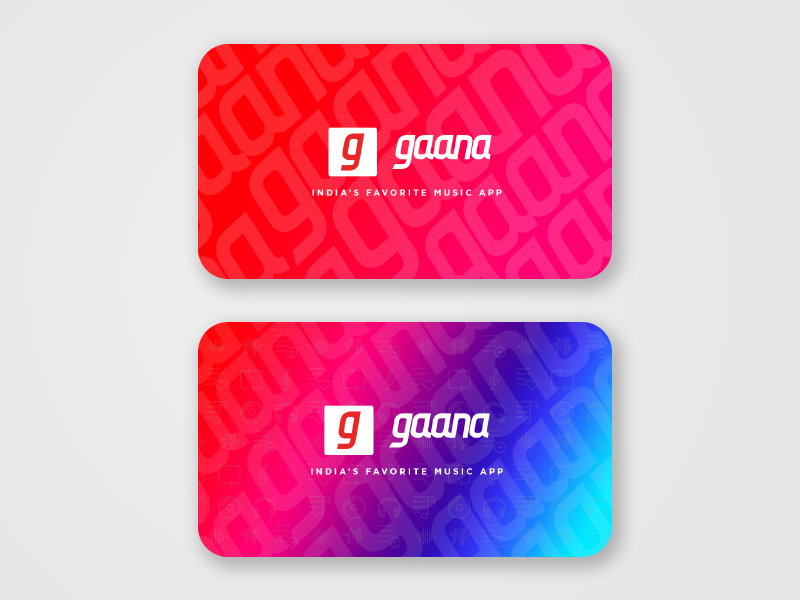 Visiting card_Gaana sample design gaana business card visitng card