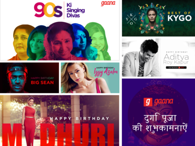 Gaana's Visual work