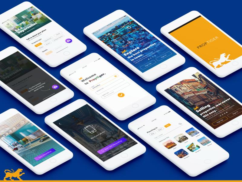 Proptiger_UIUX Casestudy app concept uiux design uiuxdesigner uiux