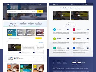 Fab Revamp revamp website webdesign