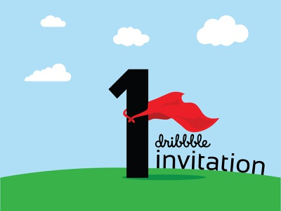 1 Invitation hero welcome invitation dribbble