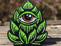 """Hop Eye"" pin...."