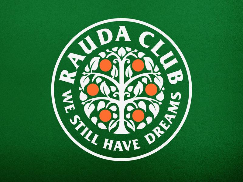 Rauda Club leta.che letache graphic design graphicdesign emblem brand identity brand design branding brand