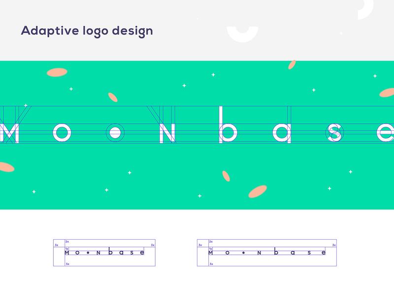 Moonbase leta.che letache branding branding design brand identity brand design brand adaptive logo