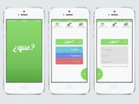 A Social Spanish App