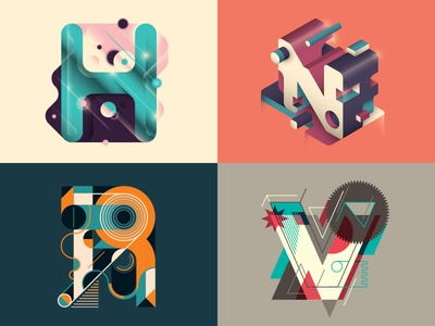 Letter design caption element path retro font geometric styleguide typescript illustration vector character creative concept color abstract design graphic font letter typo typography