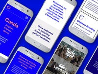 Create and Adapt Landing Page