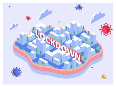 Lockdown to Avoid Coronavirus