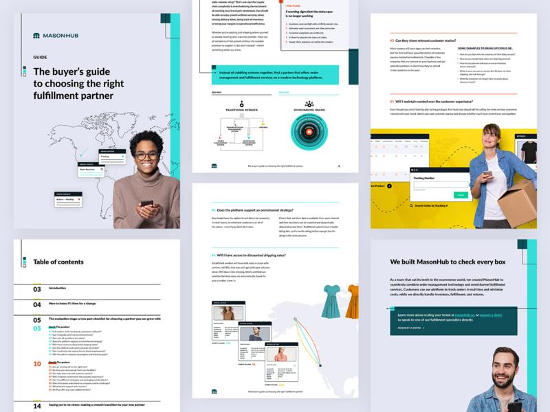 MasonHub Buyers Guide technology platform saas whitepaper ebook report guide fulfillment