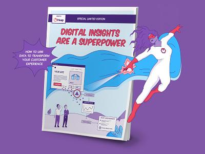 Heap Comic Book comic hero digital insights superhero content saas comic book comic