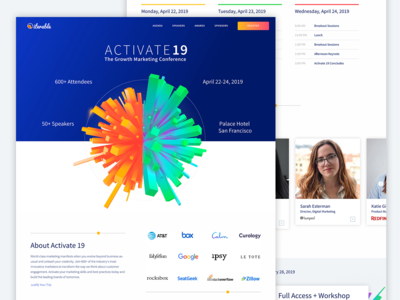 Iterable Activate 2019 Conference Website