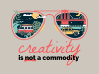 Creativity is not a Commodity
