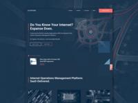 Expanse Website Homepage