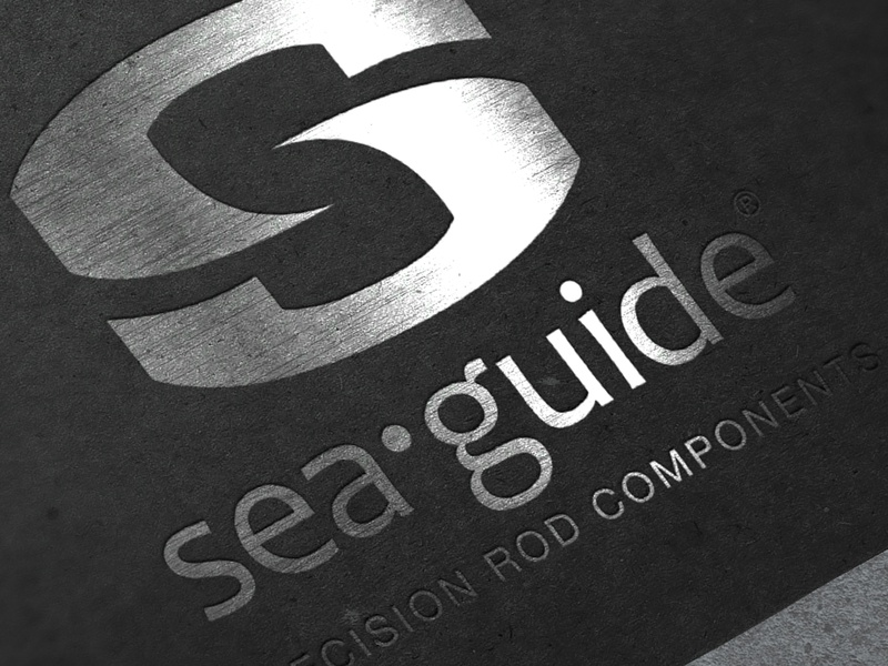 Sea Guide Logo logo outdoors fishing