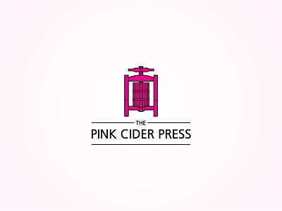 The Pink Cider Press Logo logo vector cider