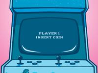 Arcade Machine Poster