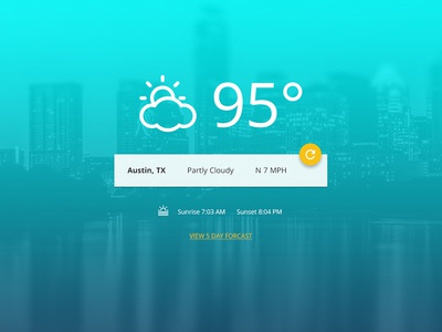 Simple Weather Demo