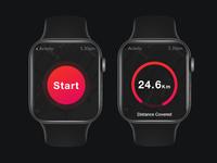 Apple Watch Design for DailyUI