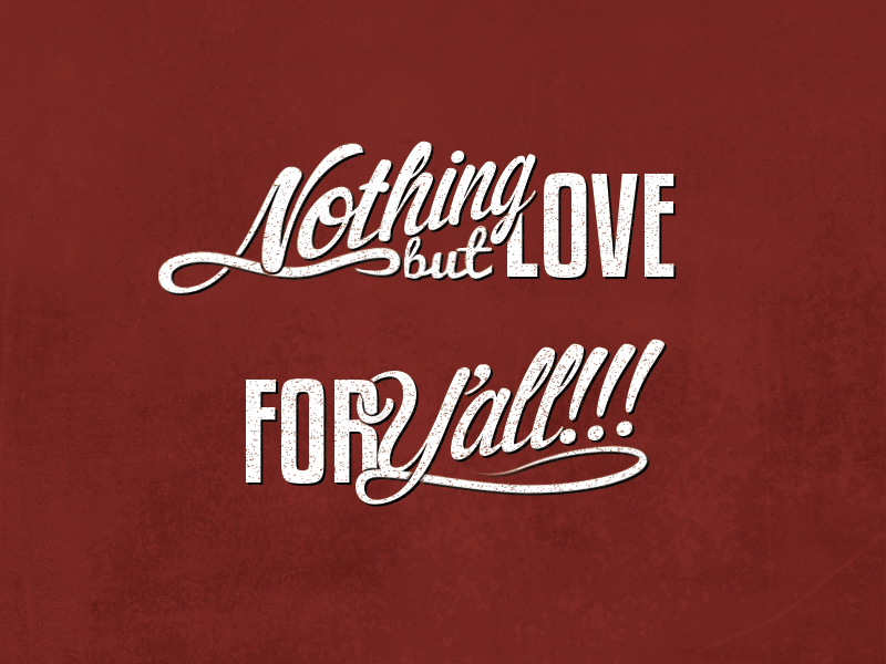 Nothing but love! by Mike Meulstee on Dribbble