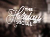 Logo | The Holiday Social