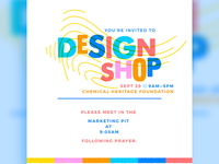 Design Shop Invitation