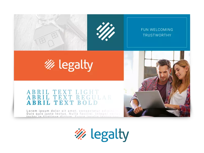Legalty Logo phldesign logo design branding real estate
