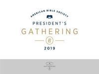 President's Gathering Logo