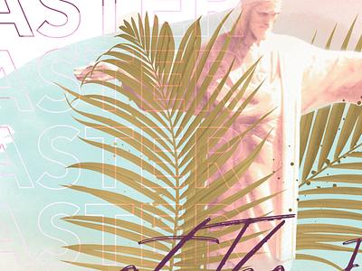 Easter Sermon Graphic texture crtvmin sermon series palm leaves sermon graphic crtvchurch