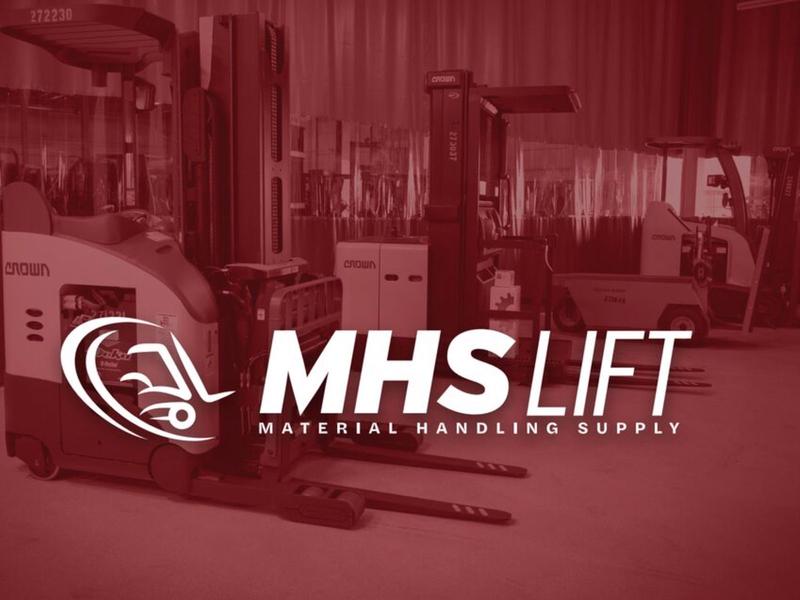 MSH Lift Final Concept blue collar forklift branding logo typography phldesign