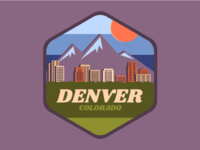 Denver City Badge